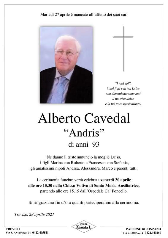 Alberto Cavedal | Epigrafe
